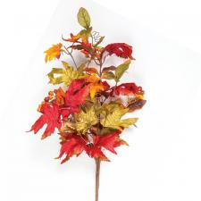 AUTUMN LEAF SPRAY WITH BERRIES, 24 IN